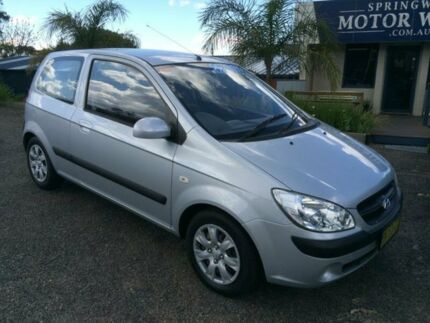 2009 Hyundai Getz TB MY09 S Silver 4 Speed Automatic Hatchback Faulconbridge Blue Mountains Preview