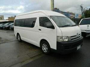 2006 Toyota HiAce KDH222R Commuter White 4 Speed Automatic Bus Williamstown North Hobsons Bay Area Preview