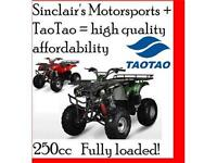 ATA250-D TAO TAO EXCLUSIVE SINCLAIR'S MOTORSPORTS DEALS.