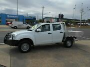 2013 Isuzu D-MAX MY12 SX Crew Cab White 5 Speed Manual Cab Chassis Fyshwick South Canberra Preview