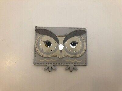 Kate Spade Star Bright Night Owl Card Holder Credit Card Case Mini Wallet