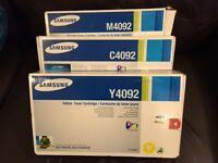 samsung toner M4092, C4092, Y4092 - new/unused