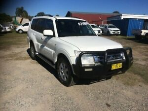 2014 Mitsubishi Pajero NX MY15 GLX White 5 Speed Sports Automatic Wagon South Grafton Clarence Valley Preview