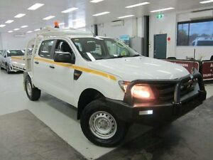 2012 Ford Ranger PX XL Double Cab White 6 Speed Sports Automatic Utility Geebung Brisbane North East Preview