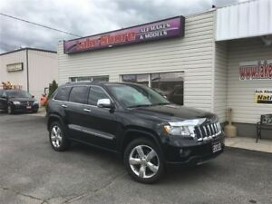 2013 Jeep Grand Cherokee Overland LEATHER
