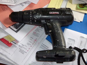 Craftsman 16.6V drill and flashlight with fast charger  NO Bat