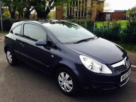 2007/57 Vauxhall Corsa 1.2 life Petrol Manual 3 Door Aircon 63k mot valid until 9th Feb 2019