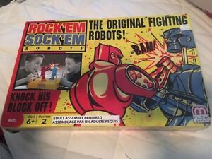The original fighting robots. AVAILABLE