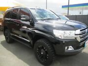 2015 Toyota Landcruiser Sahara 200 Series Black 6 Speed Auto Active Select Wagon Capalaba Brisbane South East Preview