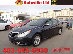 2014 Hyundai Sonata GLS SUNROOF HEATED SEATS EVERYONE APPROVED!!