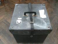 Travel Box . Old . Size : H=39cm , W=39cm , D=39cm .