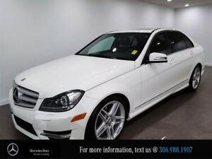 2013 Mercedes Benz C-Class C 350, Locally Owned, 4MATIC, Heated
