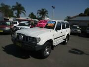 1997 Toyota Landcruiser GXL 40th Ann LE (4x4) White 4 Speed Automatic 4x4 Wagon Waratah Newcastle Area Preview