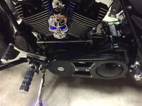 "BDL 2"" SHORTY OPEN BELT DRIVE PRIMARY 2007-2015 STREET GLIDE Wat"