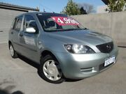2004 Mazda 2 DY Neo Green 5 Speed Manual Hatchback East Victoria Park Victoria Park Area Preview