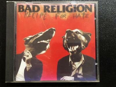 Recipe for Hate by Bad Religion (CD, Aug-1993, Atlantic) Very Good  comprar usado  Enviando para Brazil