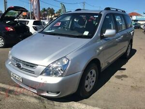 2008 Kia Grand Carnival VQ (EX) Silver 4 Speed Automatic Wagon Lansvale Liverpool Area Preview