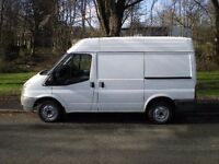 2010 FORD TRANSIT SW SEMI HIGH TOP 2.2 WITH 90,000 MILES FROM NEW, FULL 12 MONTHS MOT, PRICE TO SELL