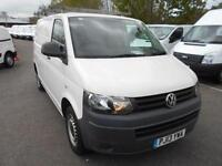 Volkswagen Transporter T28 SWB 1.9TDI 84PS VAN DIESEL MANUAL WHITE (2013)