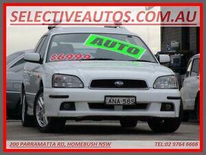 2003 Subaru Liberty MY03 RX White 4 Speed Automatic Wagon Homebush Strathfield Area Preview