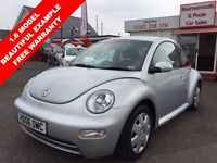 VOLKSWAGEN BEETLE 1.6 8V 3d 101 BHP FABULOUS CONDITION, BRAND NEW MO (silver) 2006