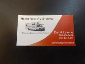 "North Rock RV Storage ""Safe Secure Storage"""