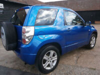 0757 SUZUKI GRAND VITARA 1.6 VVT+ 4X4 3 DOOR WAGON MONACO BLUE METALLIC