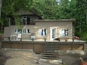 SAVARY ISLAND COTTAGE with ocean view
