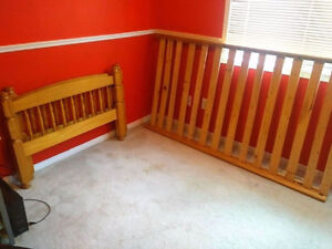 Wooden Bed Frame for Twin Mattress