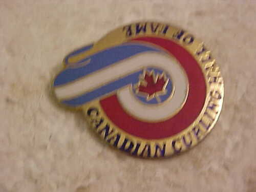 CANADIAN CURLING HALL OF FAME LAPEL PIN