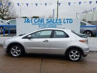 HONDA CIVIC 2.2 ES I-CTDI 5d 139 BHP LOW PRICED FAMILY 5DR HAT (silver) 2006