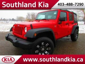 2016 Jeep Wrangler Unlimited Sport 4x4 ***LIKE NEW!!!***