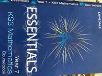 KS3 Mathematics Y7 Coursebook