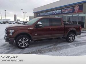 2016 FORD F-150 4WD SUPER CREW 145'' WB KING RANCH