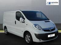 2014 Vauxhall Vivaro 2700 CDTI SPORTIVE Diesel white Manual