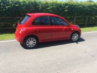 Nissan Micra dci. 2009, Red.