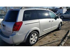 2004 NISSAN QUEST MINIVAN (DVD, LEATHER, SUNROOF!) CHEAP!!
