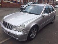 2002 Mercedes-Benz C Class 2.1 C220 CDI Avantgarde SE 4dr