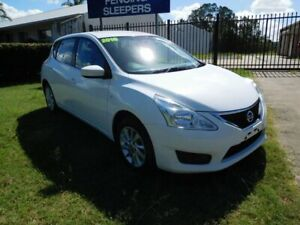 2016 Nissan Pulsar C12 Series 2 ST White 1 Speed Continuous Variable Transmission Wagon Ballina Ballina Area Preview