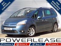 2010 10 CITROEN C4 PICASSO 2.0 GRAND EXCLUSIVE HDI EGS 5D AUTO 134 BHP DIESEL