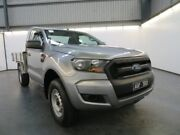 2015 Ford Ranger PX MkII PX MKII XL 4X2 HI-RIDER Silver 6 Speed Automatic CAB CHASSIS SINGLE CAB Albion Brimbank Area Preview