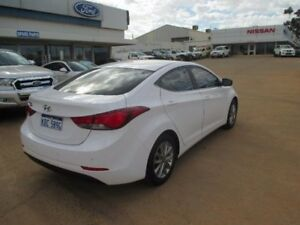 2014 Hyundai Elantra MD3 Trophy White 6 Speed Sports Automatic Sedan