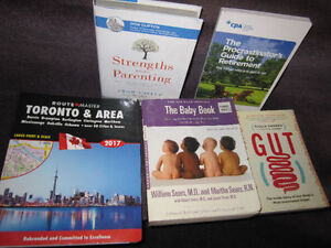 Non-Fiction Book Selection - New, Sold on Choice - $6.00 ea.