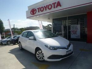 2015 Toyota Corolla ZRE182R MY15 Ascent Glacier White 7 Speed CVT Auto Sequential Hatchback Allawah Kogarah Area Preview