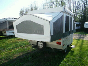 2007 Rockwood 8ft freedom tent trailer