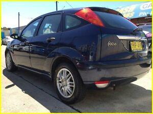 2002 Ford Focus LR MY2003 LX Blue 4 Speed Automatic Hatchback Kogarah Rockdale Area Preview