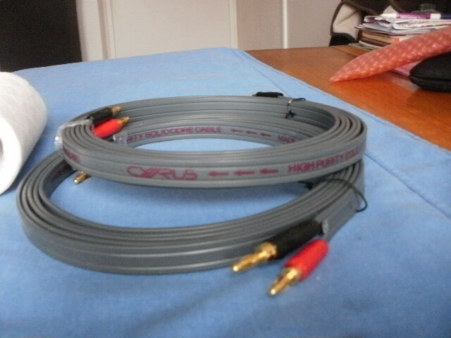 CYRUS HIGH PURITY SOLID CORE SPEAKER CABLE | in Walsall, West ...