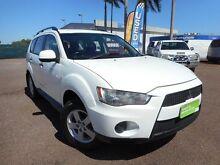 2011 Mitsubishi Outlander  Solid White Automatic Winnellie Darwin City Preview