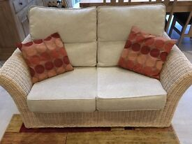 Conservatory furniture - settee and two armchairs