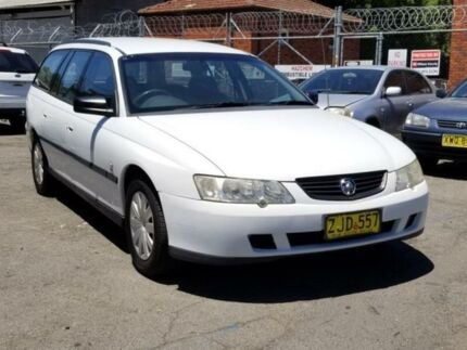 2003 Holden Commodore VY Executive Dual Fuel Petrol+lpg 4 Speed Automatic Wagon